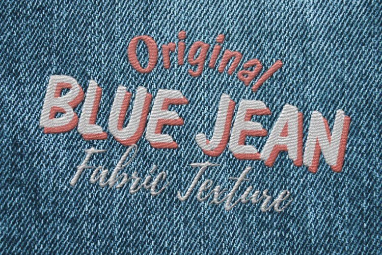 15 Denim Jean Fabric Textures JPG example 1