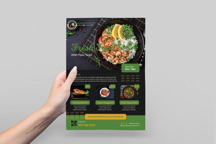 Food Restaurant Flyer Design