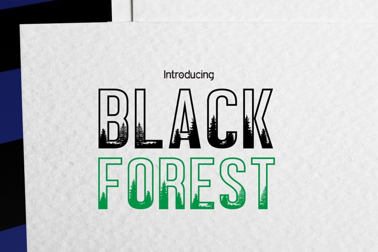 BLACK FOREST example image 1