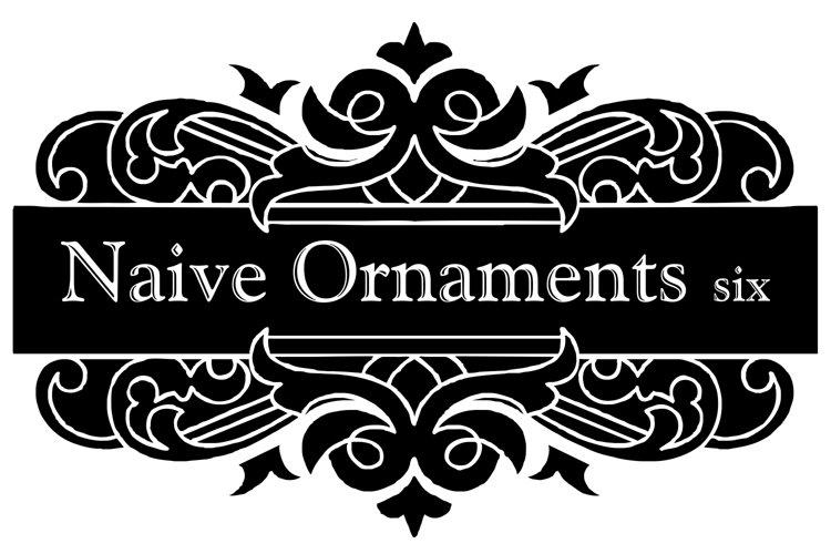 Naive Ornaments Six example image 1