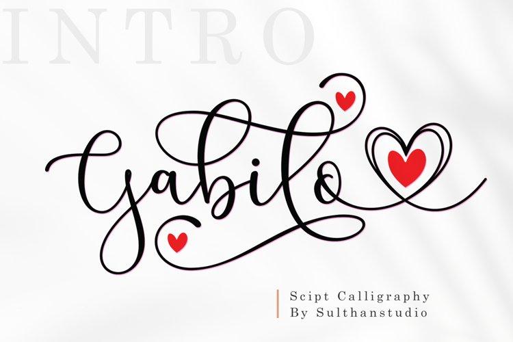 Gabilo script example image 1