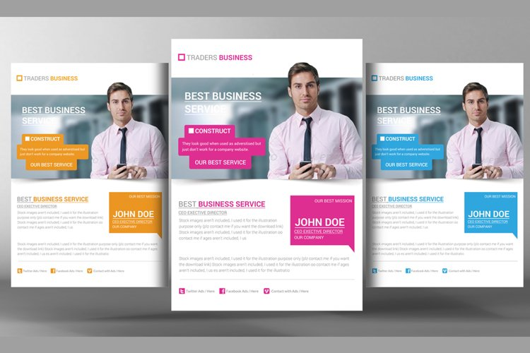 Business Promotion Corporate Flyer example image 1