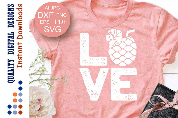 Pineapple svg Love example image 1