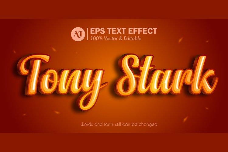 Cinematic Editable Illustrator 3D Text Effect
