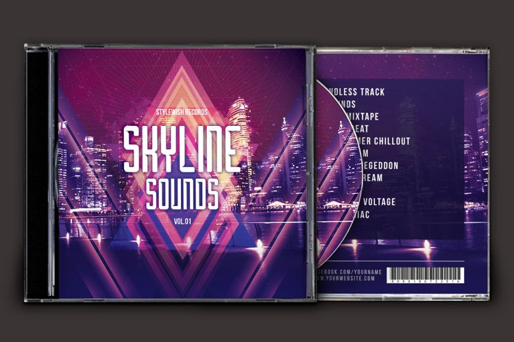 Skyline Sounds CD Cover Artwork example image 1
