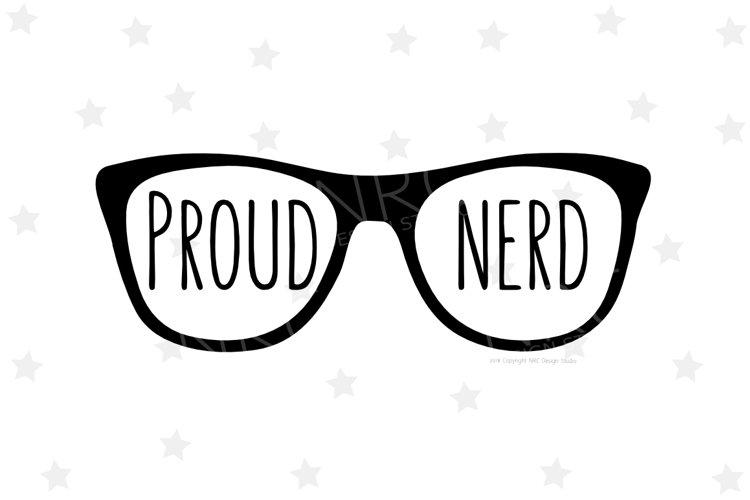 Proud Nerd SVG File
