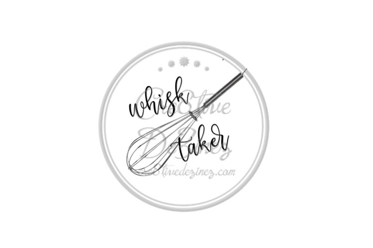 Whisk Taker - Food Pun - Sublimation example image 1