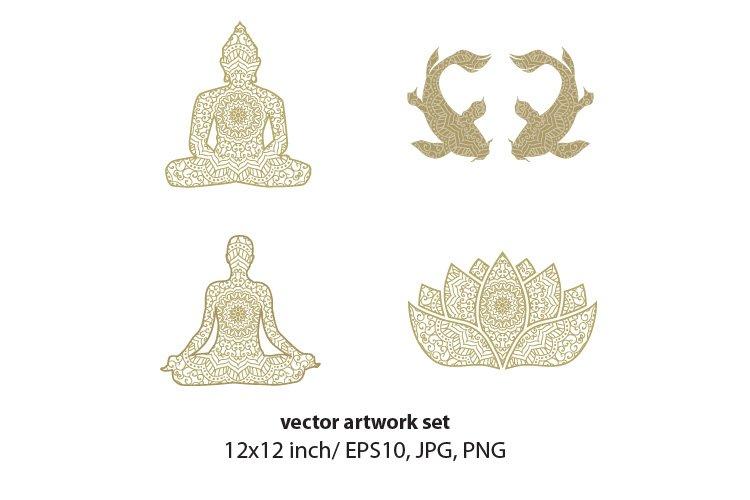 Mandala - vector set