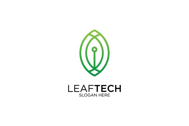 Leaf Tech Logo example image 1