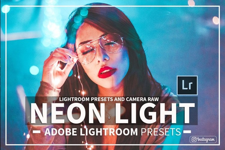Neon Nights Adobe Lightroom Preset Collection & Camera Raw example image 1