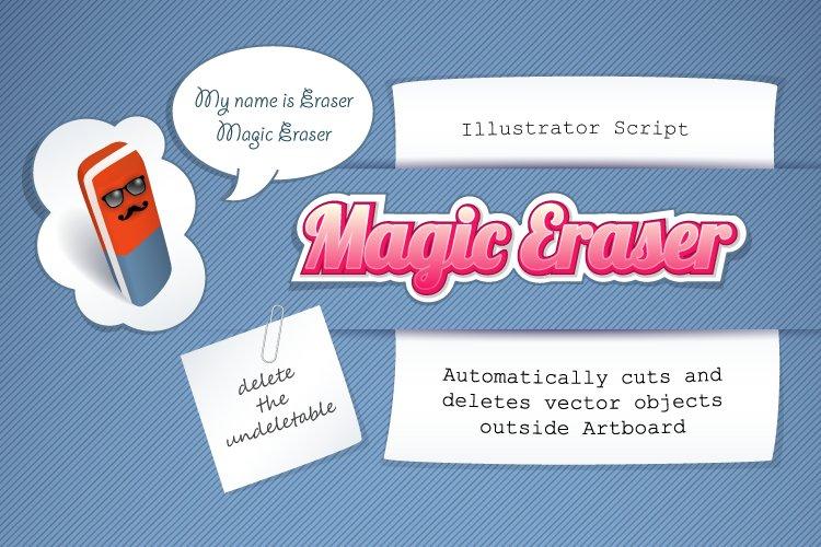 Magic Eraser Illustrator script