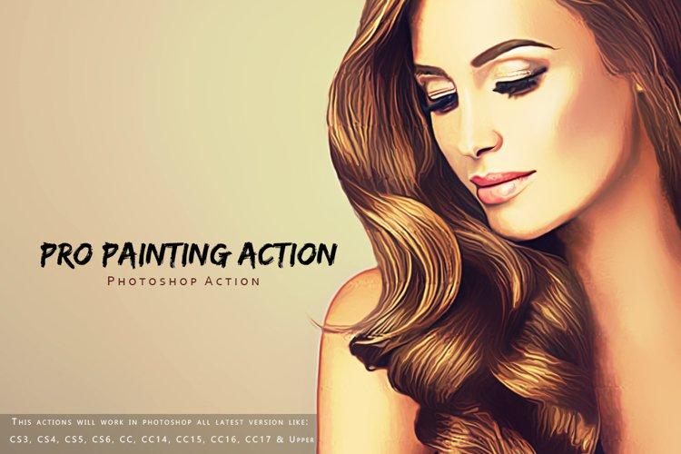 Pro Painting Photoshop Action example image 1