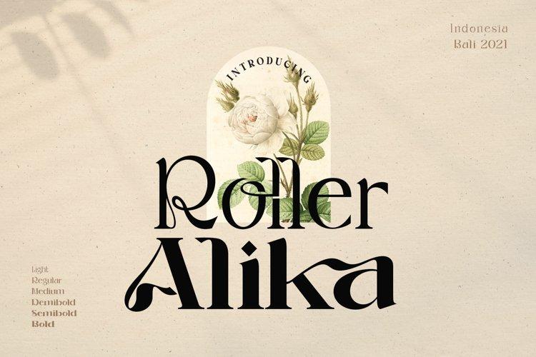 Roller Alika example image 1