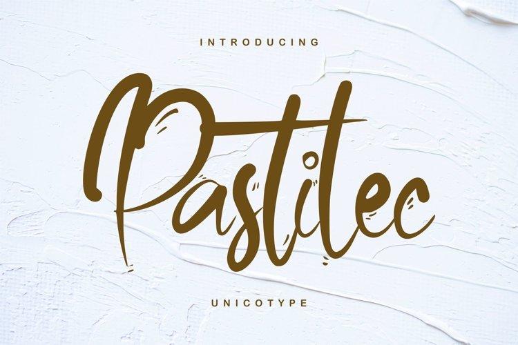 Pastilec   Unicotype Font example image 1