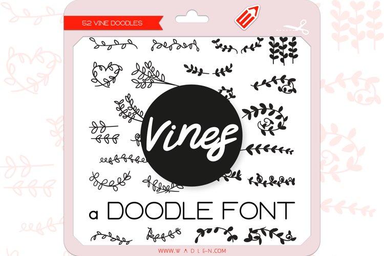 Vine Doodles - Dingbats Font example image 1