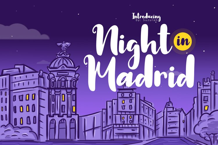 Night in Madrid example image 1