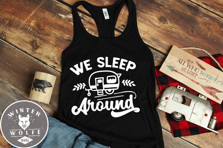 We sleep around SVG EPS DXF PNG