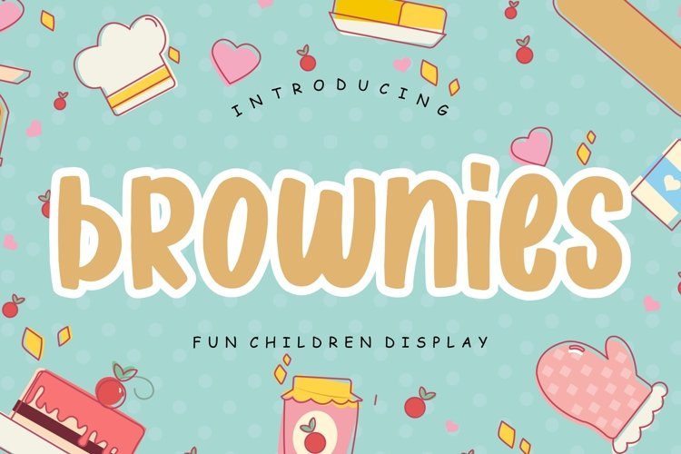 Brownies Fun Children Display example image 1