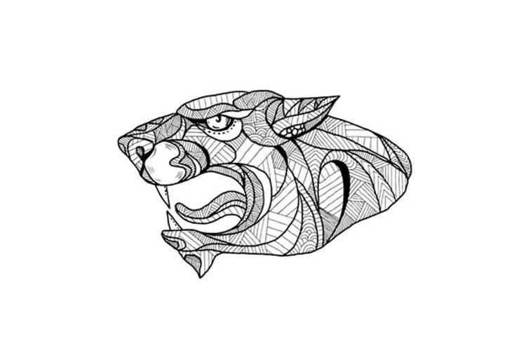 Panther Head Zentagle