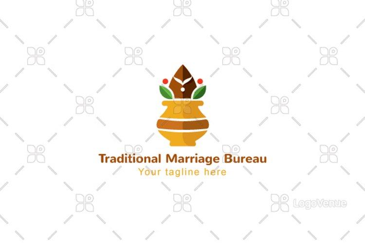 Traditional Marriage Bureau - Matrimony Logo Design example image 1