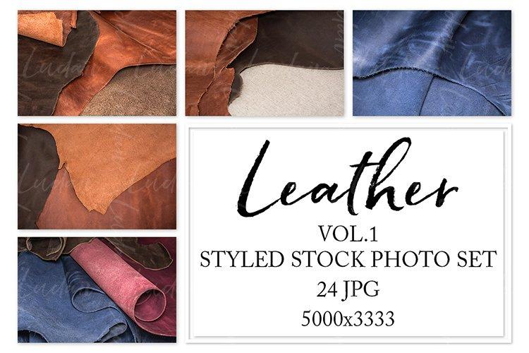 Leather. Styled stock photo set. Vol.1 example image 1