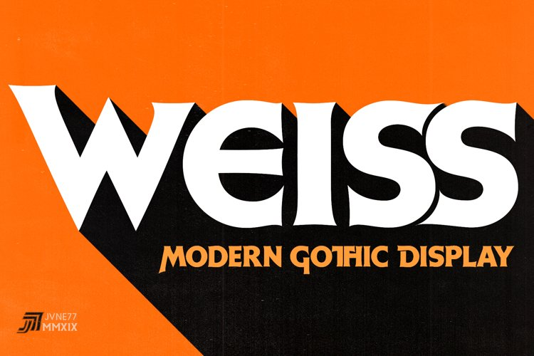 JVNE-W.Modern Gothic Display