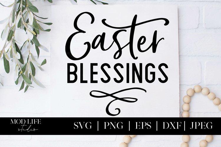 Easter Blessings SVG Cut File - SVG PNG JPEG DXF EPS
