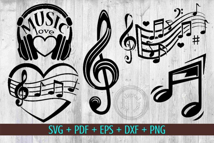 Music symbols svg bundle by Julies Homemade Jems