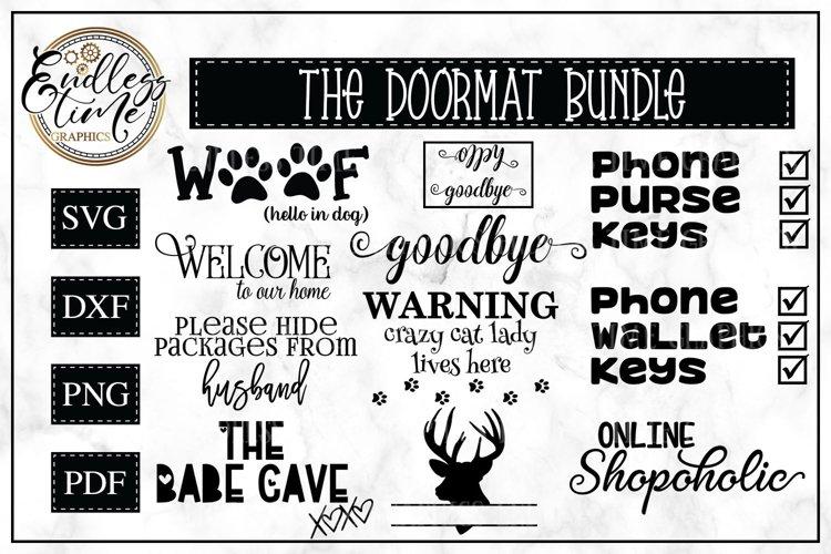 Doormat Bundle | 11 SVG or Sublimation Designs
