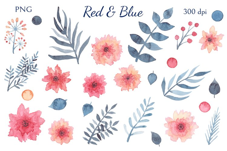 Red & Blue example 1