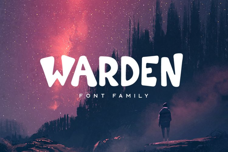 Warden Typeface example image 1
