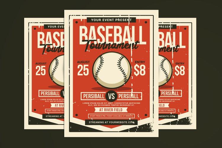 Baseball Tournament Flyer example image 1
