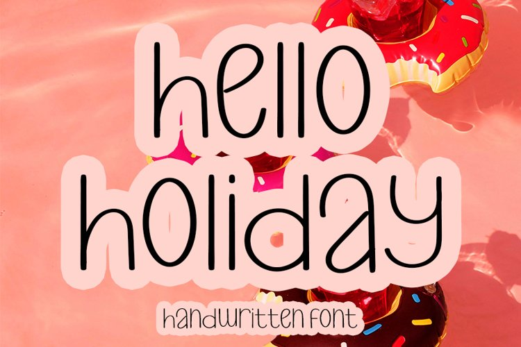 Hello Holiday example image 1
