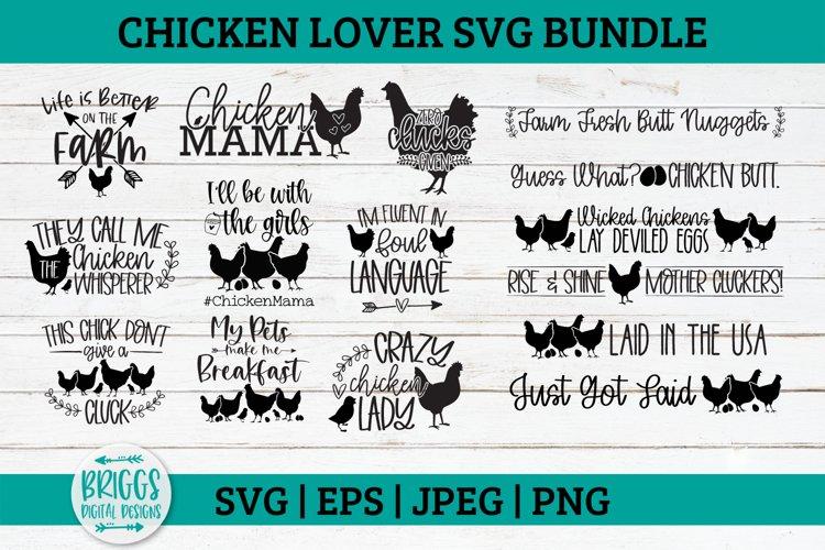 Chicken SVG Bundle   Chicken Mama, Egg Carton SVG