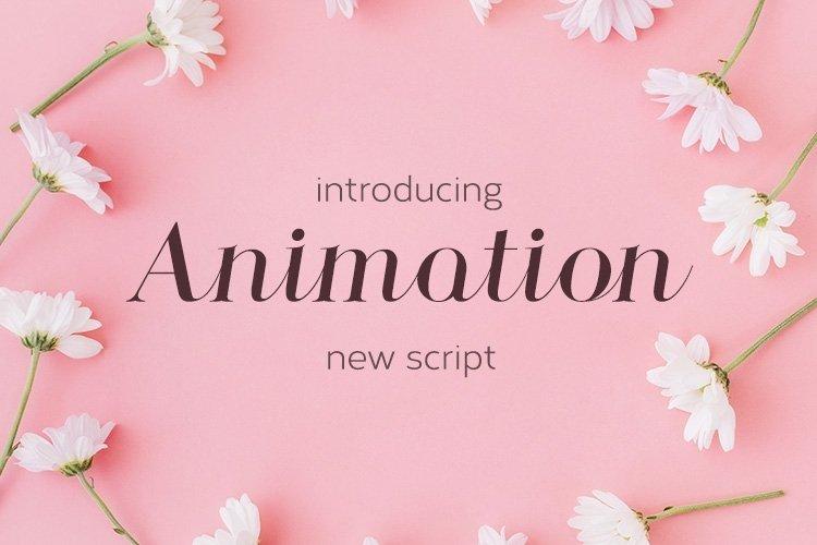 Web Font Animation example image 1