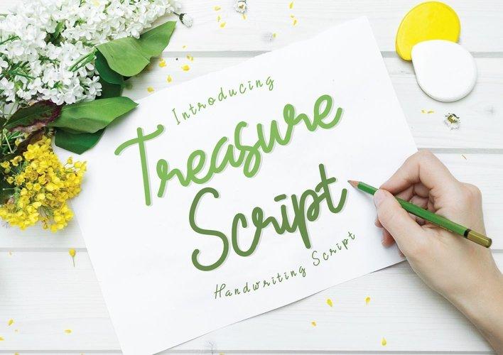 Treasure Script  example