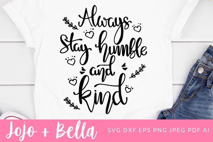 Kindness SVG - Be Kind SVG example image 1