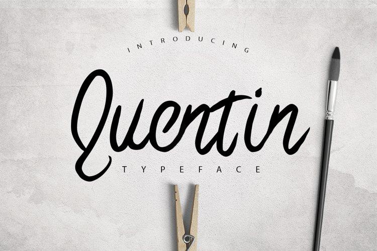 Quentin Typeface