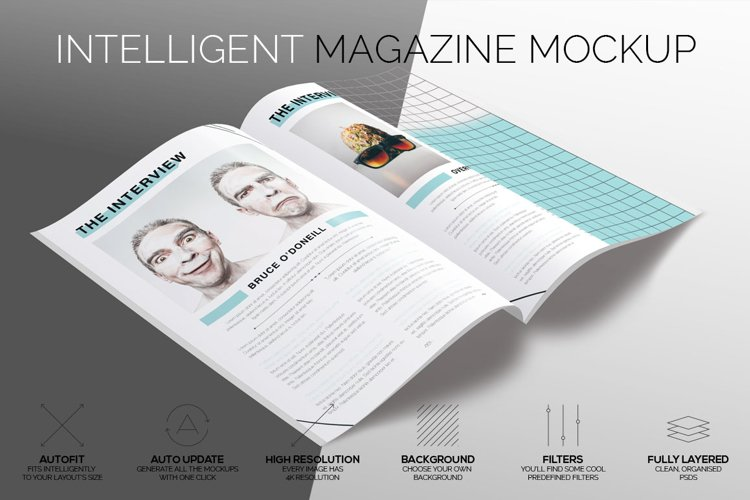 Intelligent Magazine Mockup example image 1