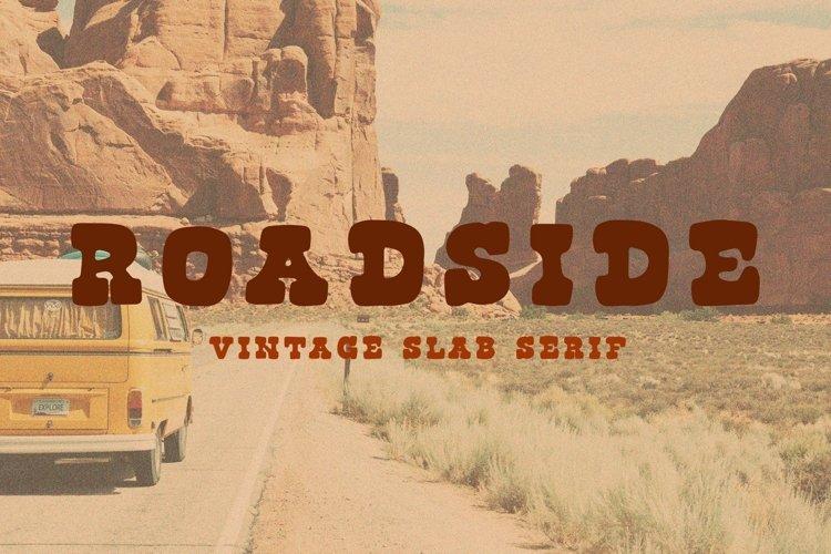Roadside | Vintage Slab Serif example image 1