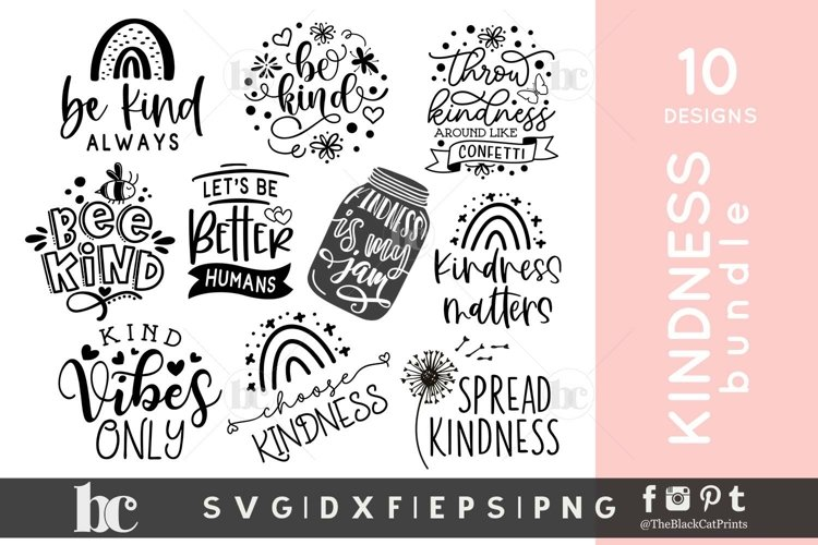 Kindness SVG Bundle | Kindness Bundle| Kindness svg quotes