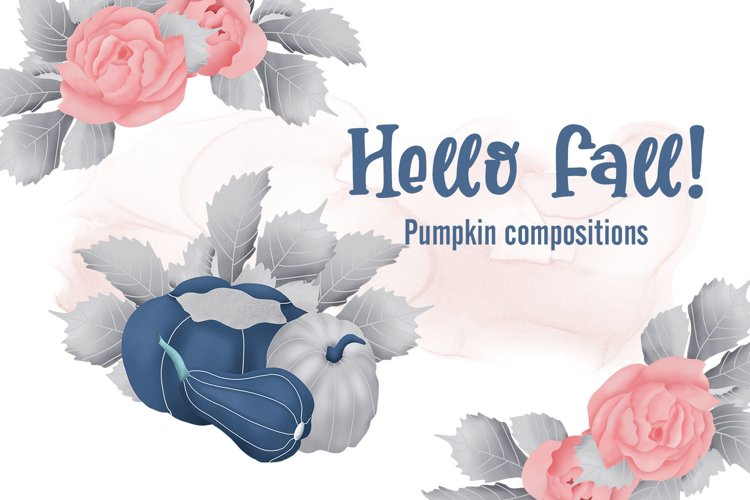 Hello Fall - Pumpkin Compositions example image 1