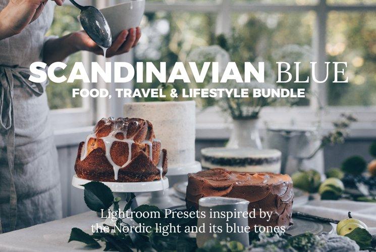 Scandinavian Blue Lightroom Desktop Preset Bundle