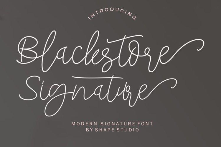 Blackstore Signature example image 1