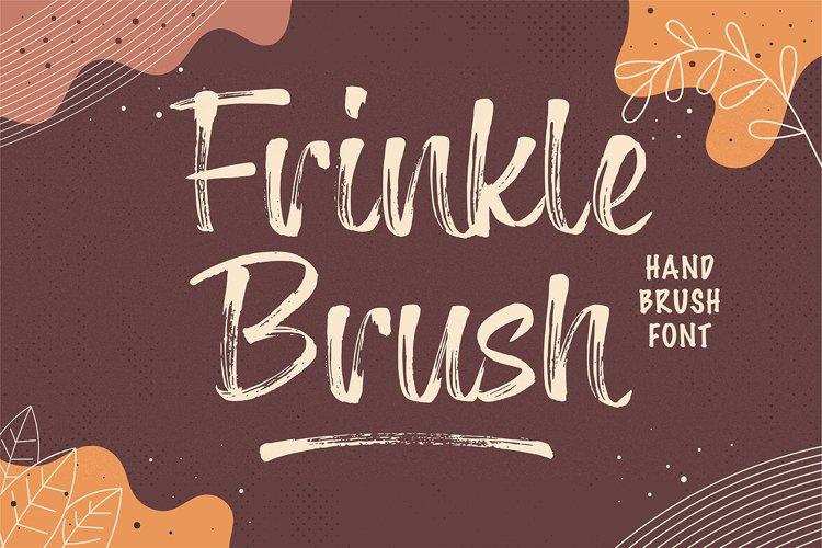 Frinkle Brush Font example image 1