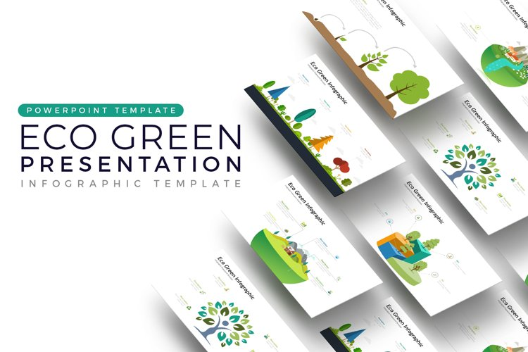 Eco Vector Presentation - Infographic Template example image 1