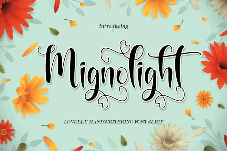 Mignolight example image 1