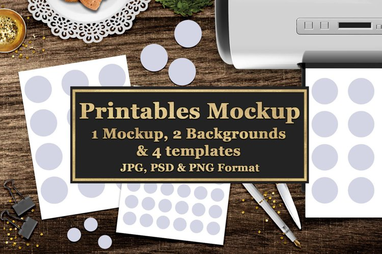 Printables Mock Up And Templates example image 1