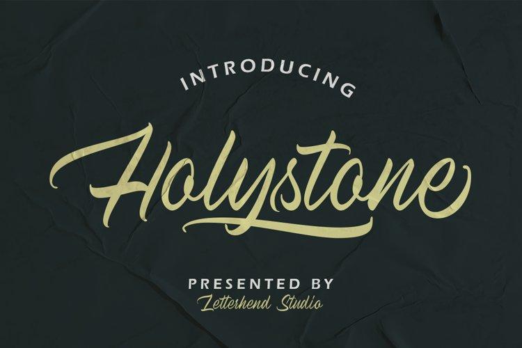 Holystone Script example image 1
