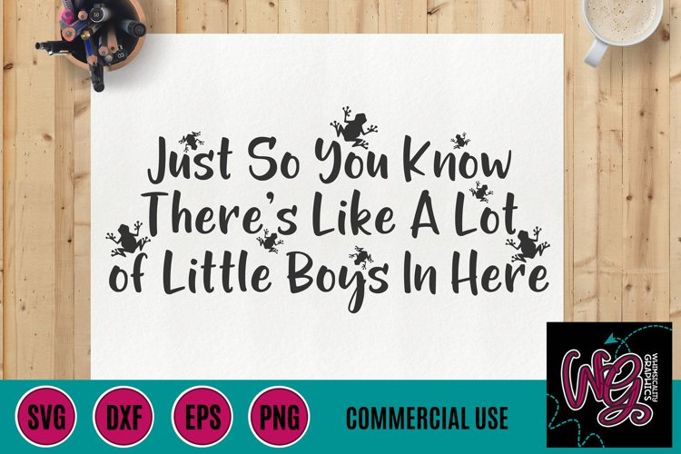 Little Boys In Here SVG DXF PNG EPS Comm